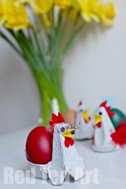 ساخت جا تخم مرغی , تزیین سفره هفت سین