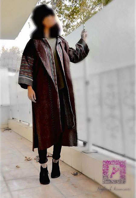 مدل مانتو زمستانی  , عکس مدل مانتو زمستانه 2016 نغمه کیومرثی