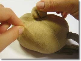 آموزش هنرهای دستی  , آموزش درست کردن سبزه آدمکی