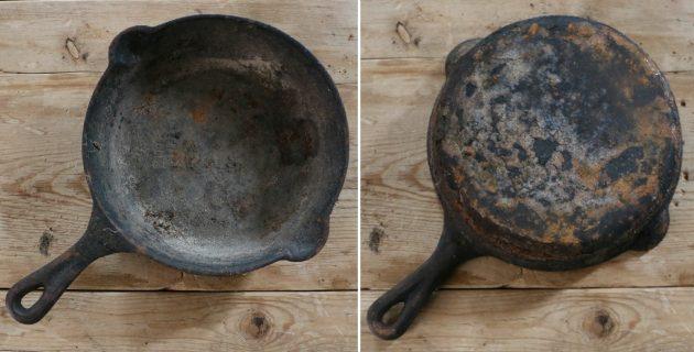 روش پاک کردن و ترمیم ظروف چدنی