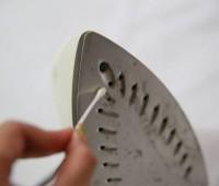 روش تمیز کردن اتو بخار