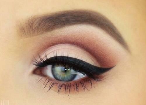 چشمان گیرا , آرایش چشم و صورت