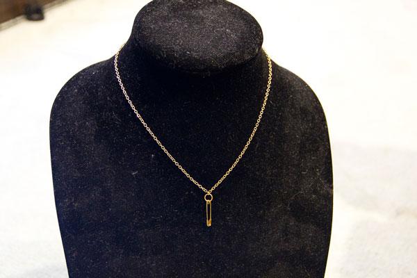 ساخت گردنبند با سنجاق قفلی و مروارید