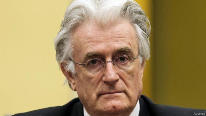 حکم رادوان کاراجیچ قصاب بوسنی صادر شد