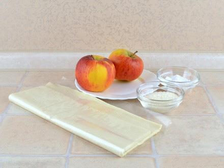 شیرینی رز سیب
