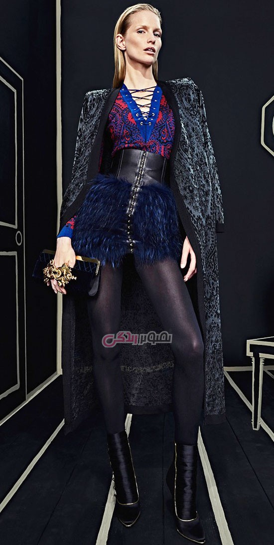 مدل لباس مجلسی Balmain
