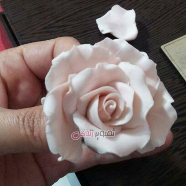 آموزش گل چینی , ساخت گل رز مینیاتوری