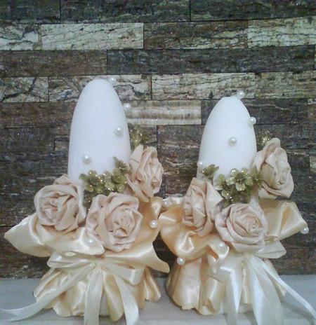 تزیین کله قند عروس , تزئین کله قند