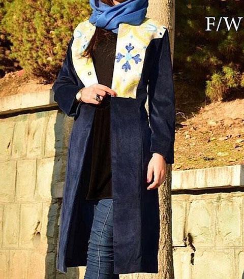 مدل مانتو بهاره , مانتو مجلسی 95