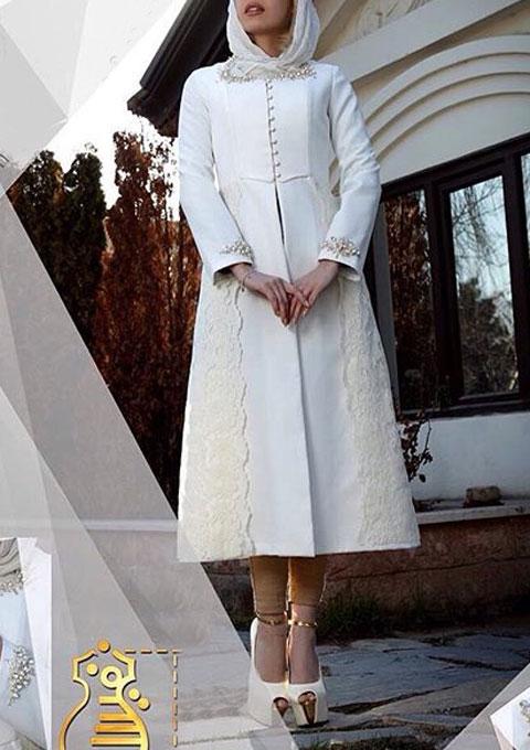 مدل مانتو مجلسی  , عکس مدل مانتو مجلسی 95 مزون نفیس