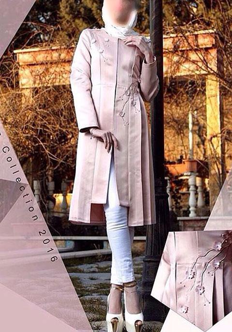 مدل مانتو بهاری  , عکس مدل مانتو بهاره مزون نفیس | مدل مانتو مجلسی