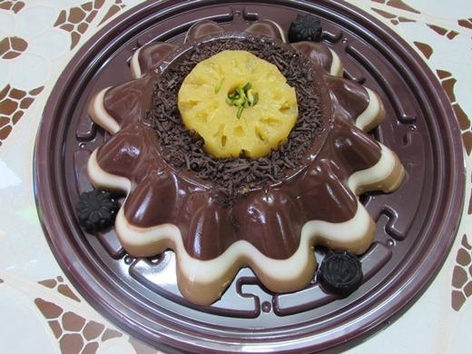 دسر فروماژ شکلاتی