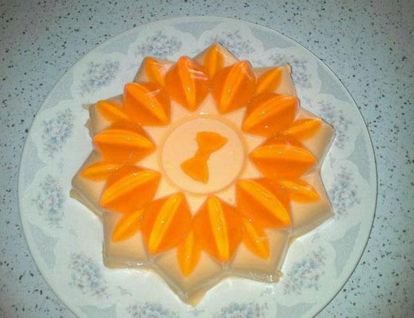 فروماژ پرتقال , دسر مجلسی