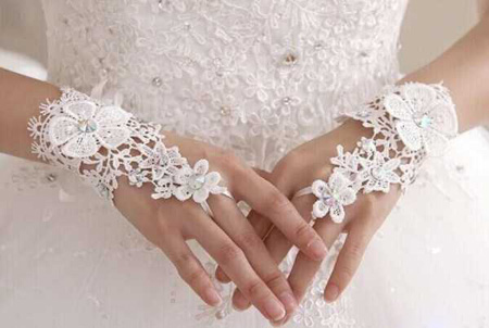 مدل دستکش ساتن عروس, شیک ترین دستکش های ست عروس