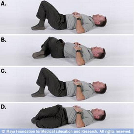 تمرین ورزشی درمان کمر درد
