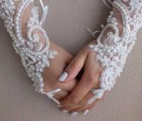 عکس مدل دستکش عروس