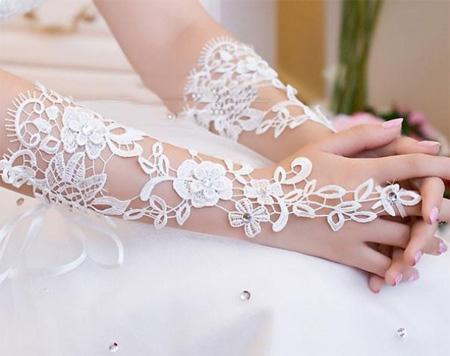 دستکش عروس, دستکش بدون انگشت عروس