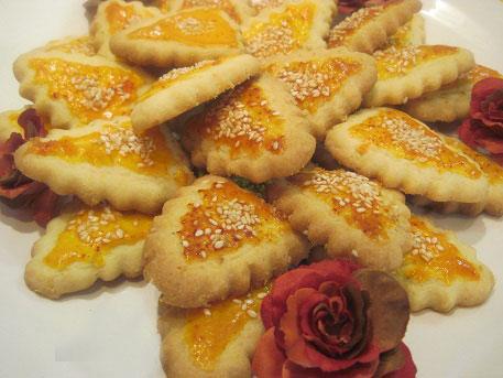 شیرینی نان چای قزوین