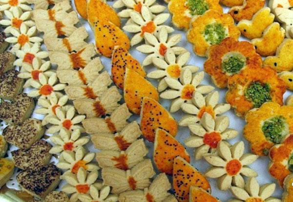 نان، شیرینی، دسر  , طرز تهیه شیرینی فسایی برای عید نوروز