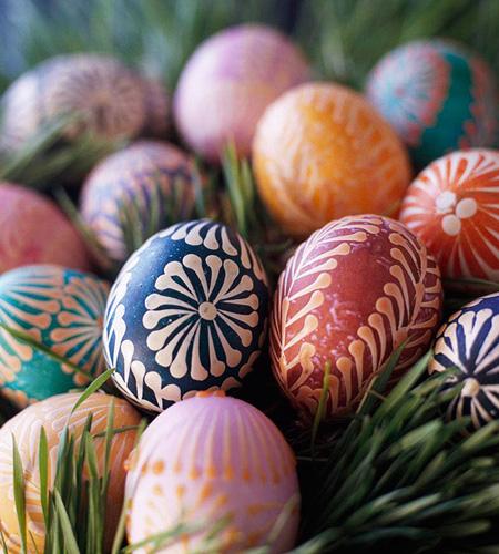 تخم مرغ رنگی عید تخم مرغ رنگارنگ عید,عکس تخم مرغ تزیین شده نوروز