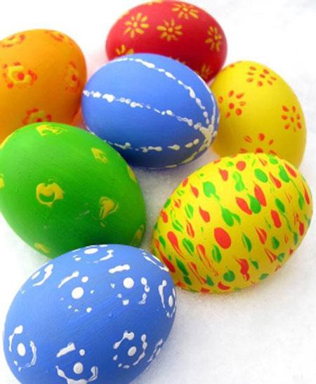 تزیین تخم مرغ هفت سین با دکمه, تزیین تخم مرغ هفت سین به شکل آدمک