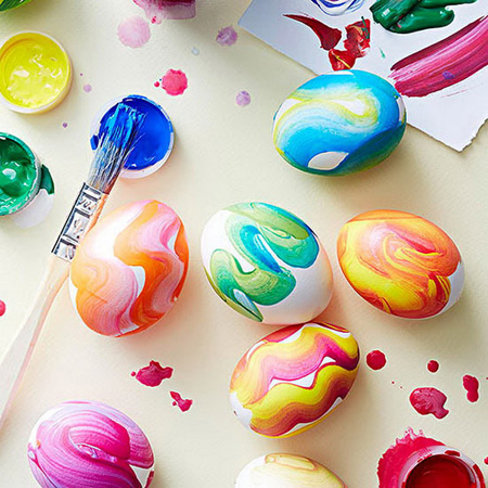 عکس تخم مرغ تزیین شده نوروز, نقاشی تخم مرغ سفره هفت سین