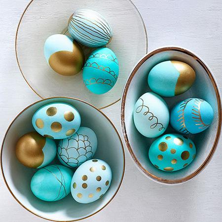 نقاشی تخم مرغ سفره هفت سین, تزیین تخم مرغ هفت سین با کاغذ و پارچه