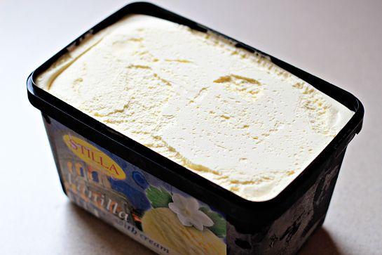 نان، شیرینی، دسر  , طرز تهیه بستنی سوخاری