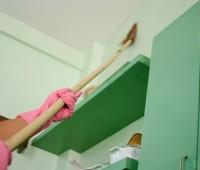 تمیز کردن دیوار های منزل