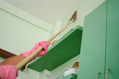 راههای تمیزکردن دیوار,نحوه تمیز کردن دیوار