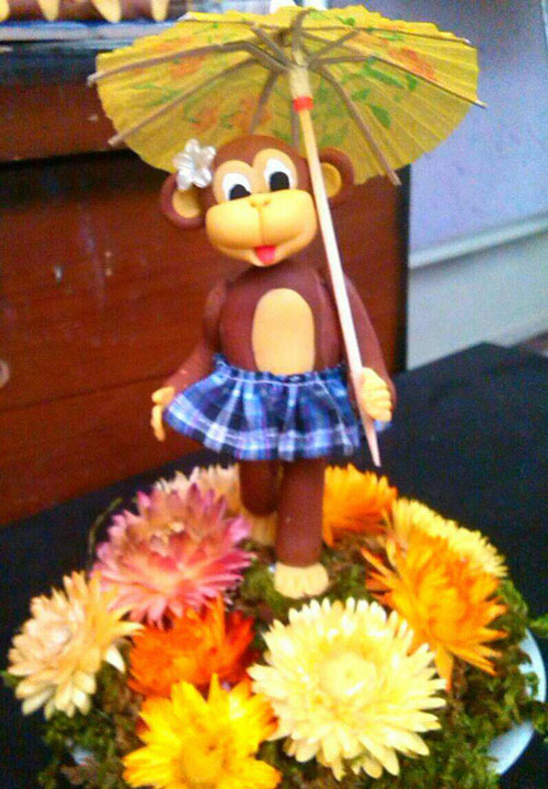 سال میمون , عروسک میمون خمیری