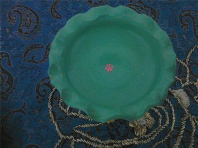 تزیین ظروف هفت سین , نقاشی نقطه ای