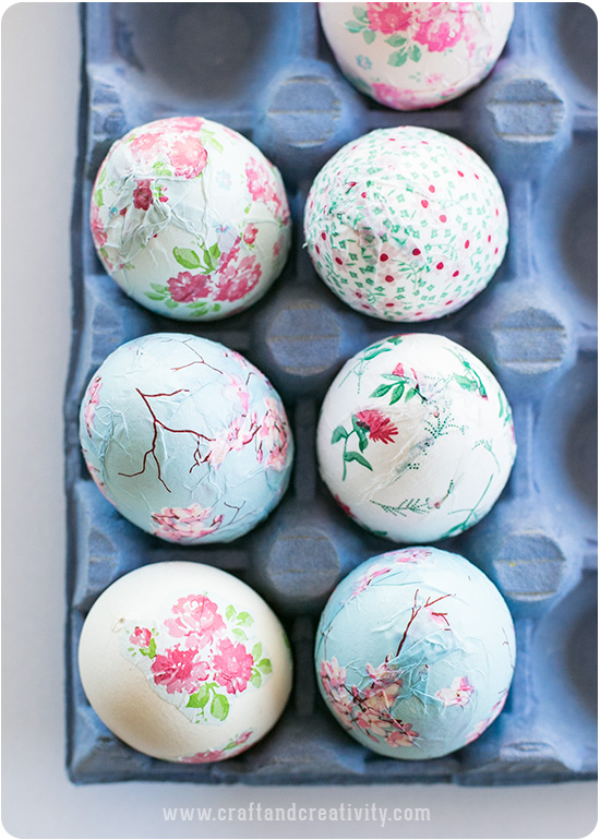 دکوپاژ تخم مرغ , تزیین تخم مرغ