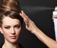 ترفندهایی در استفاده از اسپری مو