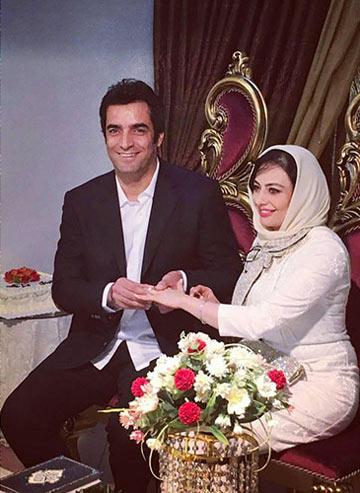 ازدواج منوچهر هادی و یکتا ناصر