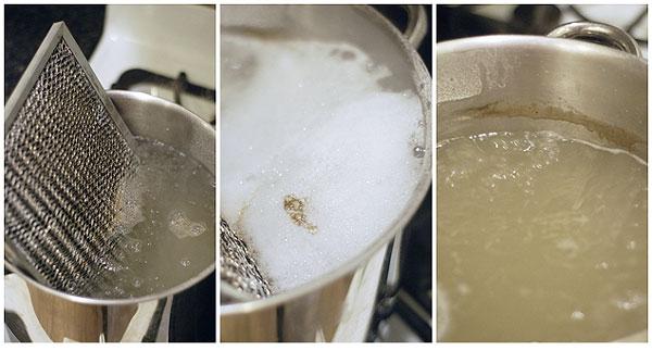 تمیز کردن فیلتر هود آشپزخانه