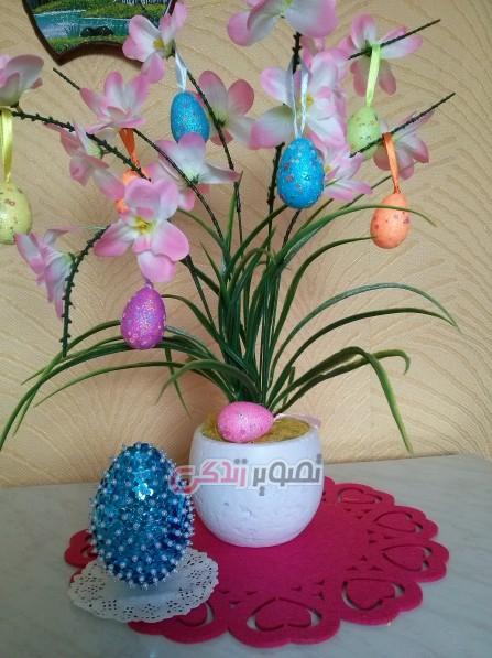 مدل تزئین تخم مرغ هفت سین