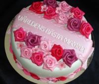 تزیین کیک روز مادر