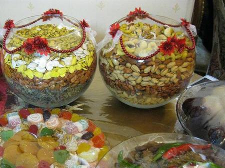 مدل تزیین آجیل , عکس تزئین آجیل عید
