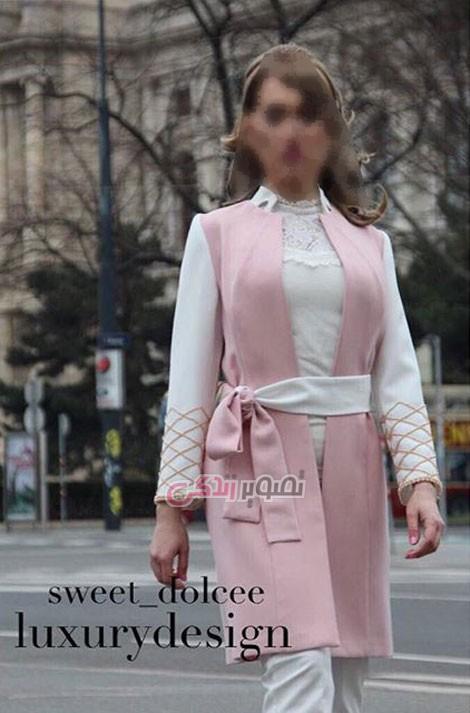 مدل مانتو مجلسی , مانتو رنگ سال 2016