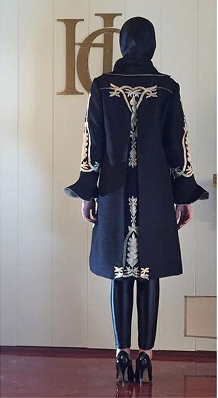 مدل مانتو مجلسی  , عکس مدل مانتو مجلسی جدید برند HG (هانا قره گوزلو)