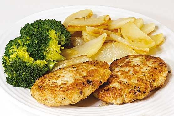 کوکوی مرغ و لوبیا سفید