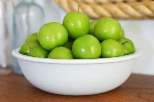 خواص آلوچه , فواید گوجه سبز