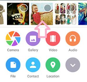 ارسال تصویر همراه متن در تلگرام