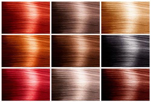 ریزه کاری های رنگ کردن مو