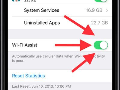 دستیار وای فای آیفون , Wi-Fi Assist