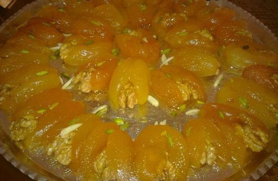 طرز تهیه مربای زردآلو