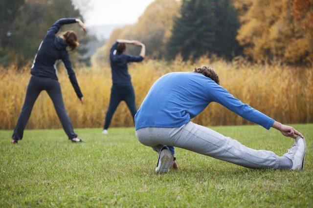 گرم کردن بدن قبل از هر ورزشی