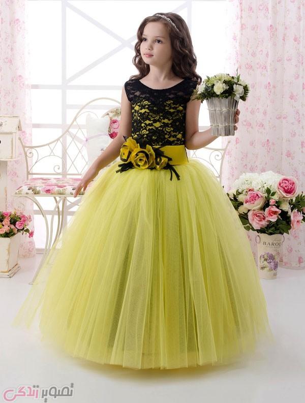 خرید لباس مجلسی بچه گانه دخترانه