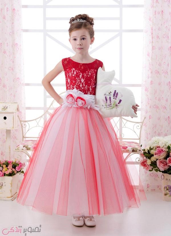 مدل لباس مجلسی بچه گانه , پیراهن مجلسی دخترانه